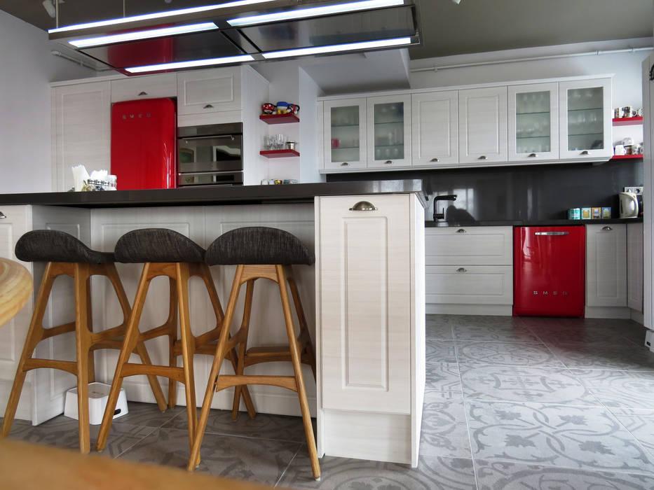MİMPERA – Açık Mutfak Planı:  tarz Mutfak