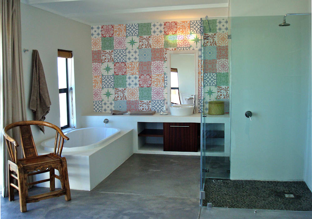 Open plan :  Bathroom by Turquoise