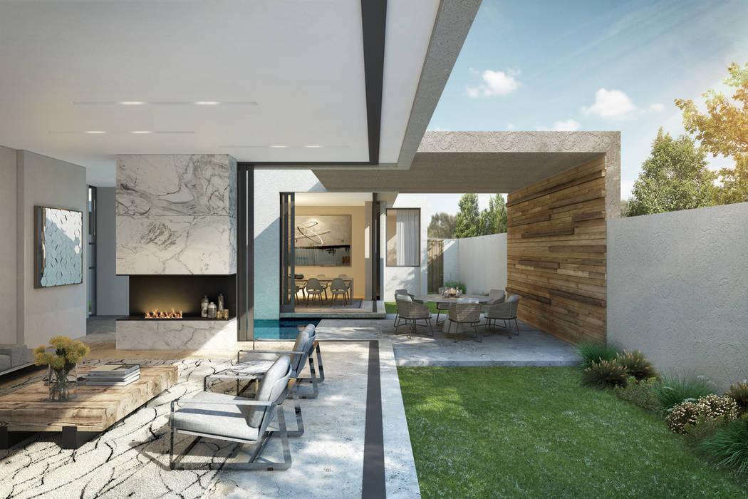 Livings de estilo  por Ahmed Akoob Architects, Moderno