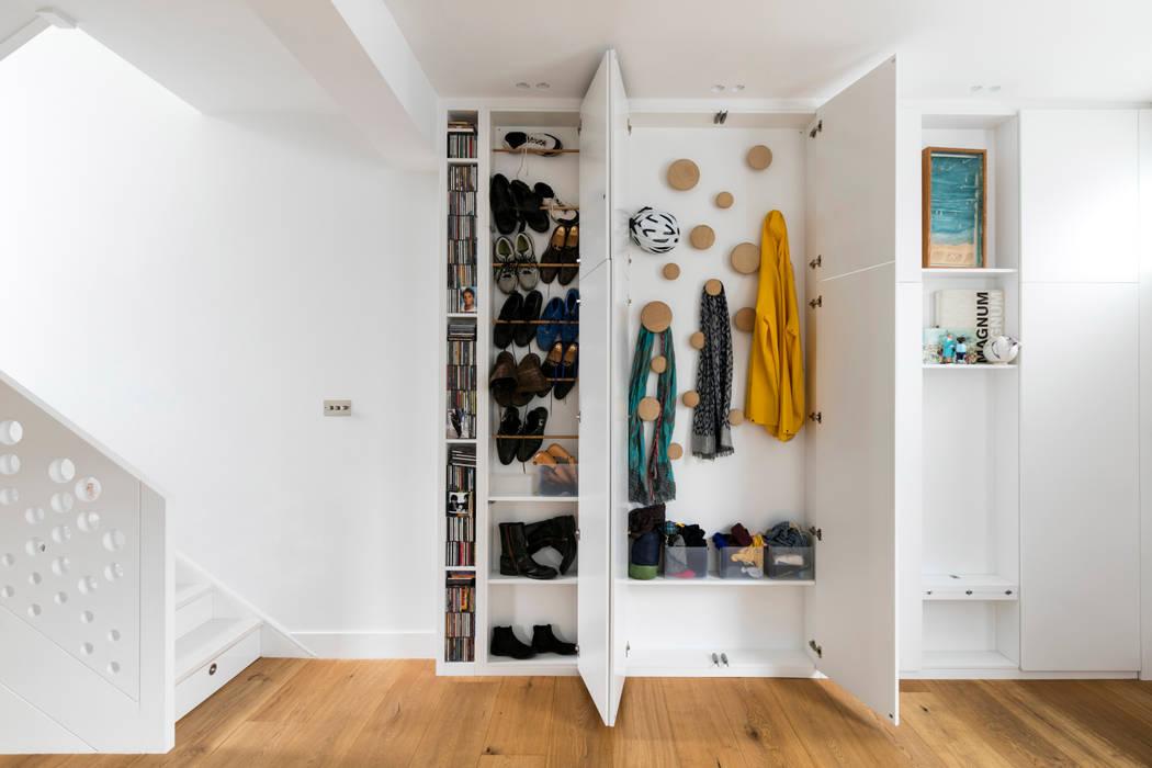 Arlington Avenue Ruang Keluarga Modern Oleh Shade Abdul Architecture Modern