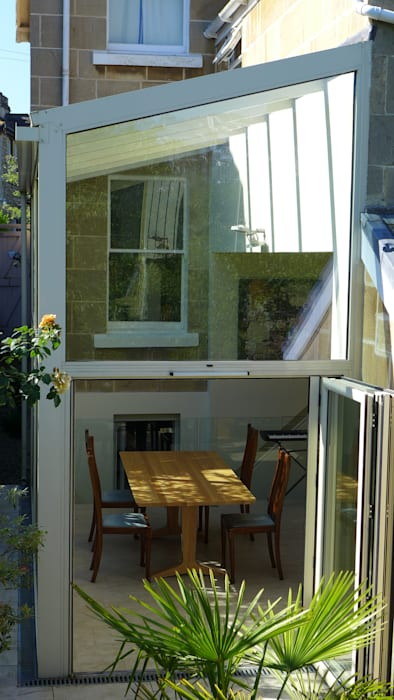 glass conservatory: modern Conservatory by Style Within