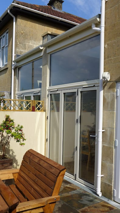 side return extension.:  Conservatory by Style Within