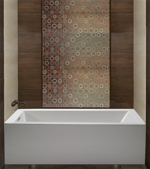 MTI Bath Exclusive Alberta Dealer Serenity Bath Modern bathroom