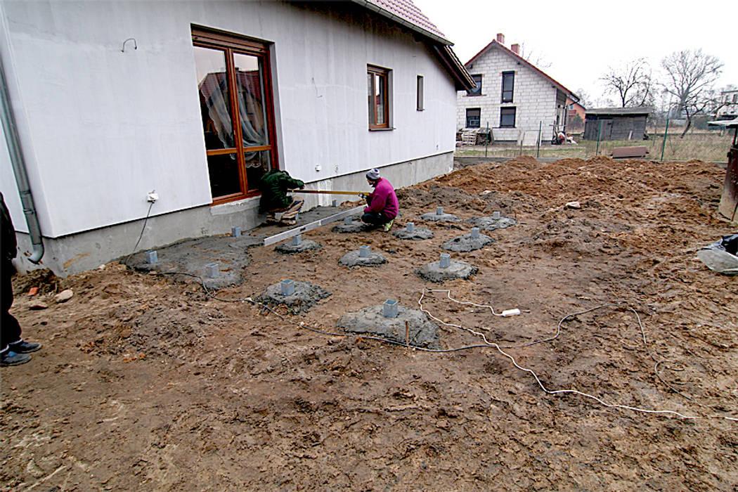 Taras drewniany w Zbąszyniu PHU Bortnowski