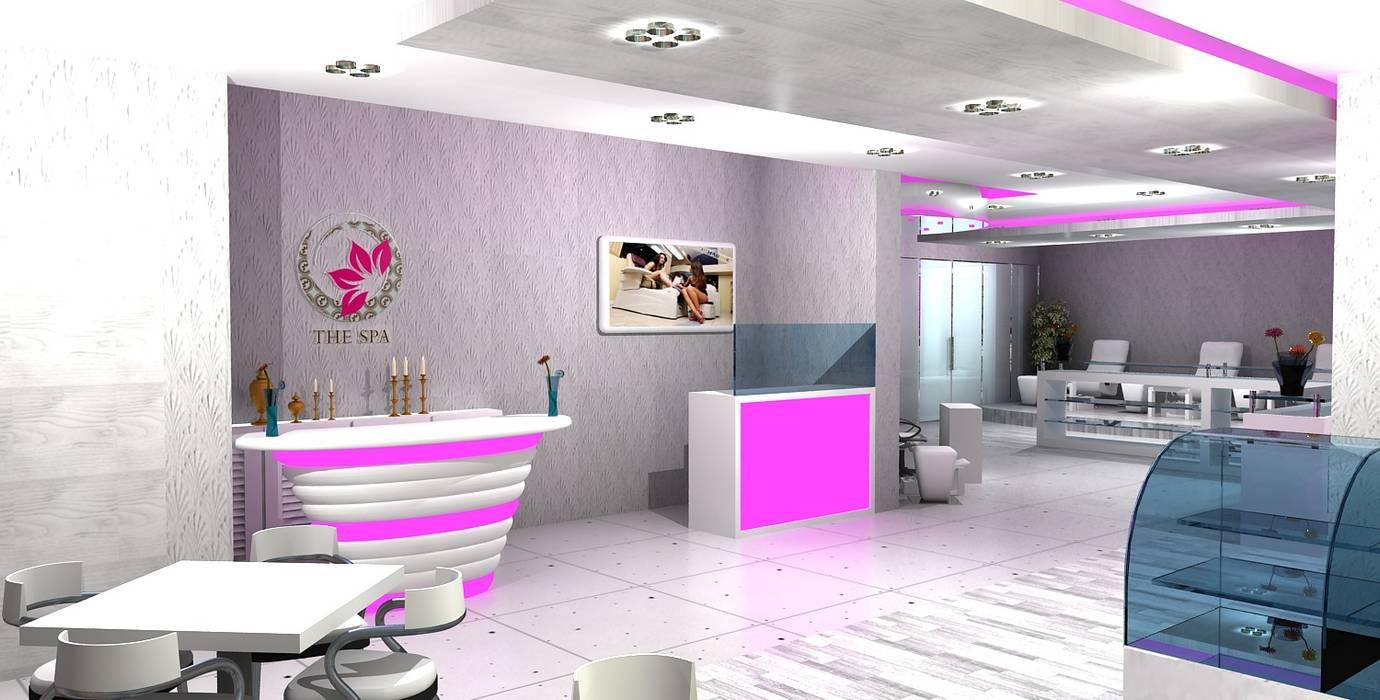 Najla Spa:  Commercial Spaces by Gurooji Designs,