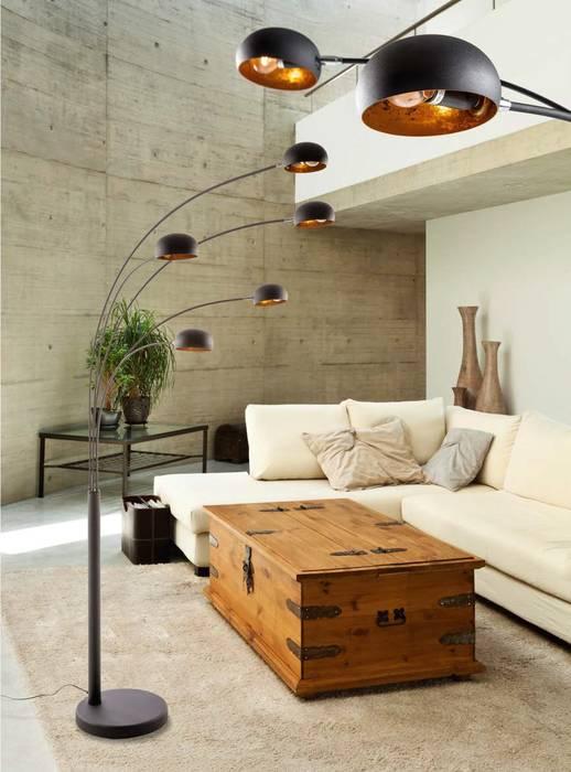 Lampa podłogowa ZODIAC od Mlamp Eklektyczny Matal