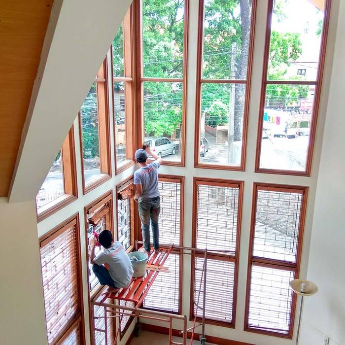 jasa bersih kaca jendela SapuBersih.id Pintu & Jendela Gaya Skandinavia
