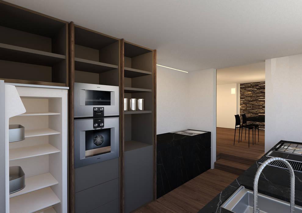 armadio attrezzato: Cucina in stile in stile Minimalista di Giemmecontract srl.