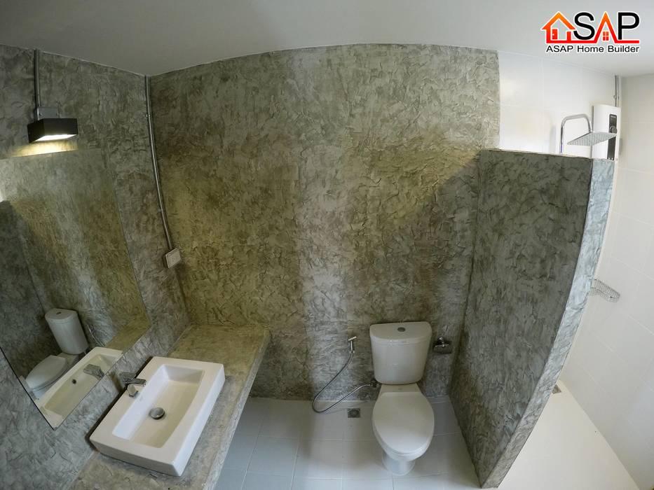 ASAP P17 บ้านชั้นเดี่ยว 2 ชั้น 1 ห้องนอน 2 ห้องน้ำ:  บ้านและที่อยู่อาศัย โดย Asap Home Builder,
