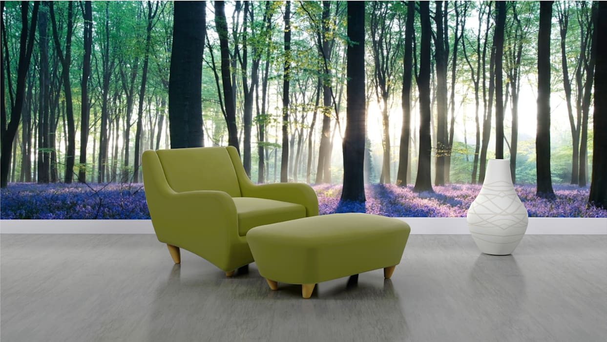 living room: Salas de estilo  por Naromi  Design