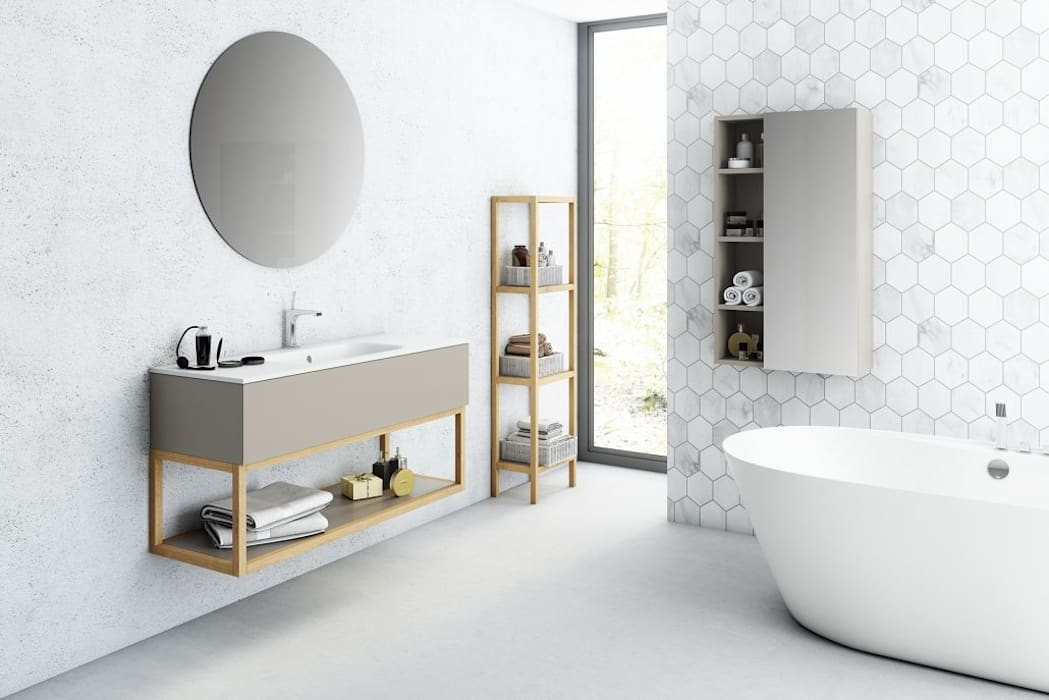 Bathroom by Sumitay, Minimalist