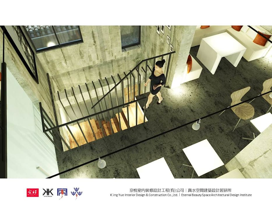 Ruang Komersial oleh 京悅室內裝修設計工程(有)公司|真水空間建築設計居研所, Kolonial