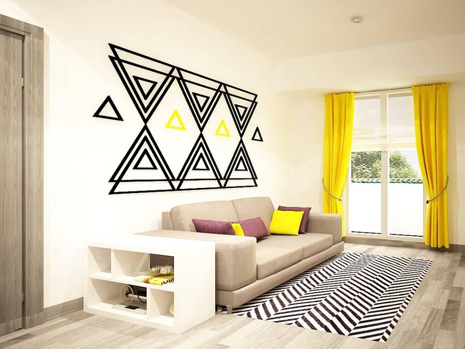 Diseño de sala: Salas de estilo  por Zono Interieur,