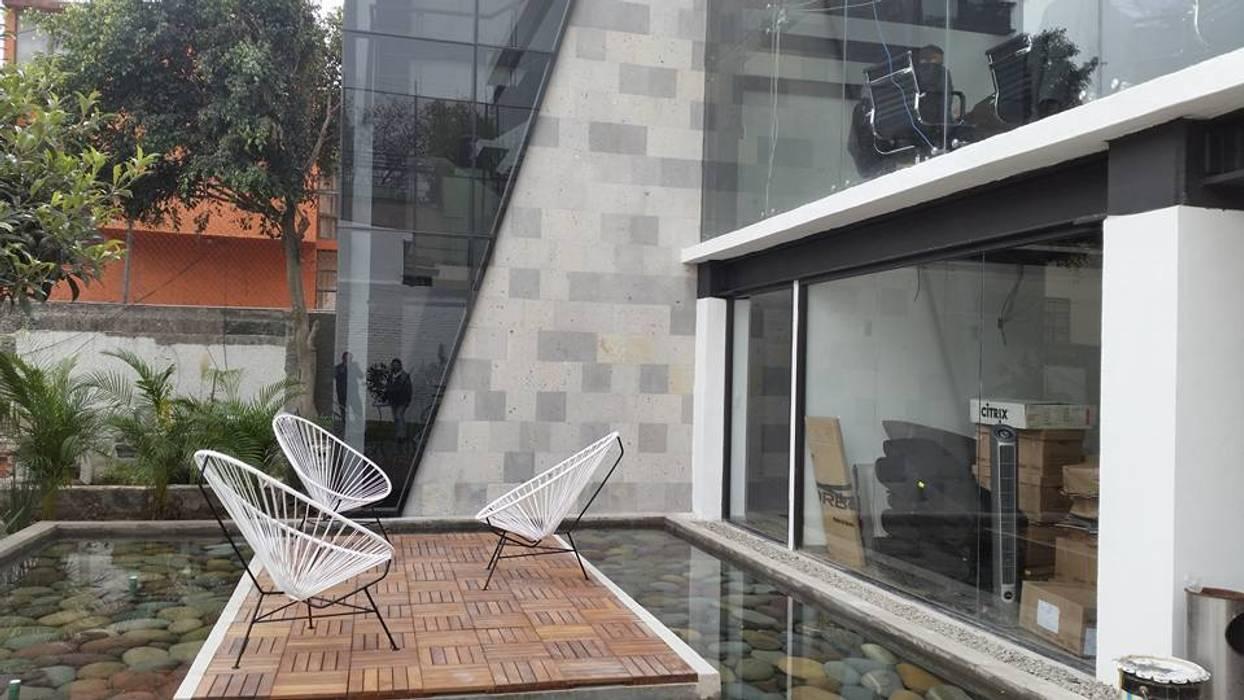 Terrasse De Style Par Endemica Arquitectos Industriel Homify