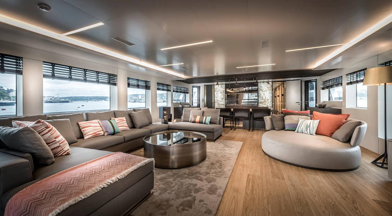NUMARINE 32 XP YACHT DESIGN Modern yachts & jets by Esra Kazmirci Mimarlik Modern