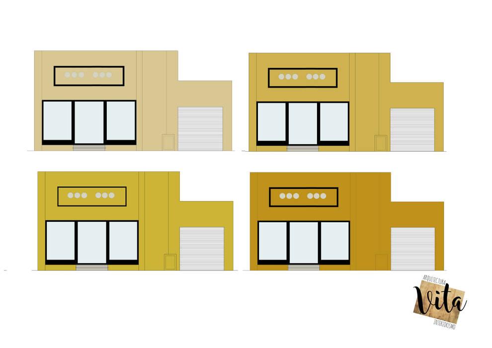 Lojas e Espaços comerciais modernos por Vita Arquitectura e Interiorismo Moderno