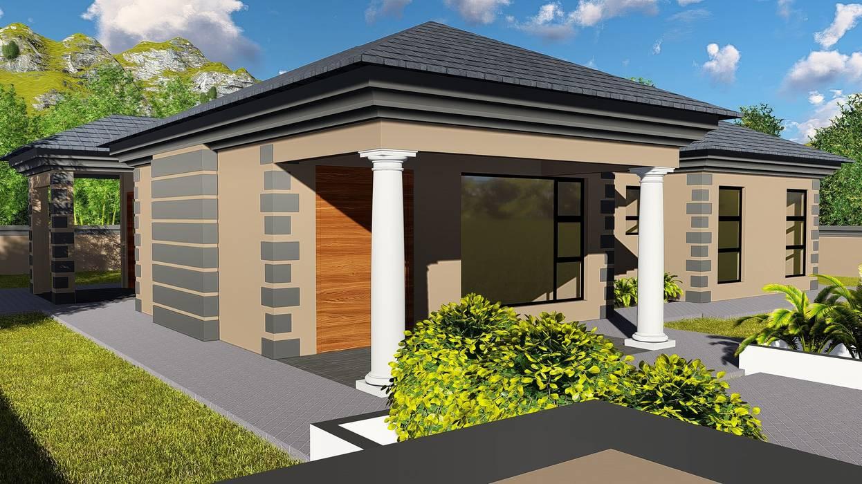 Modern home by BlackStructure Modern