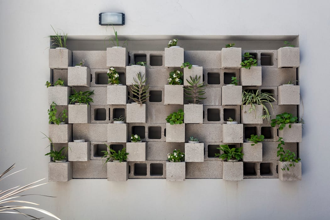 Edificio Tucumán Jardines modernos: Ideas, imágenes y decoración de Garnerone + Ramos Arq. Moderno