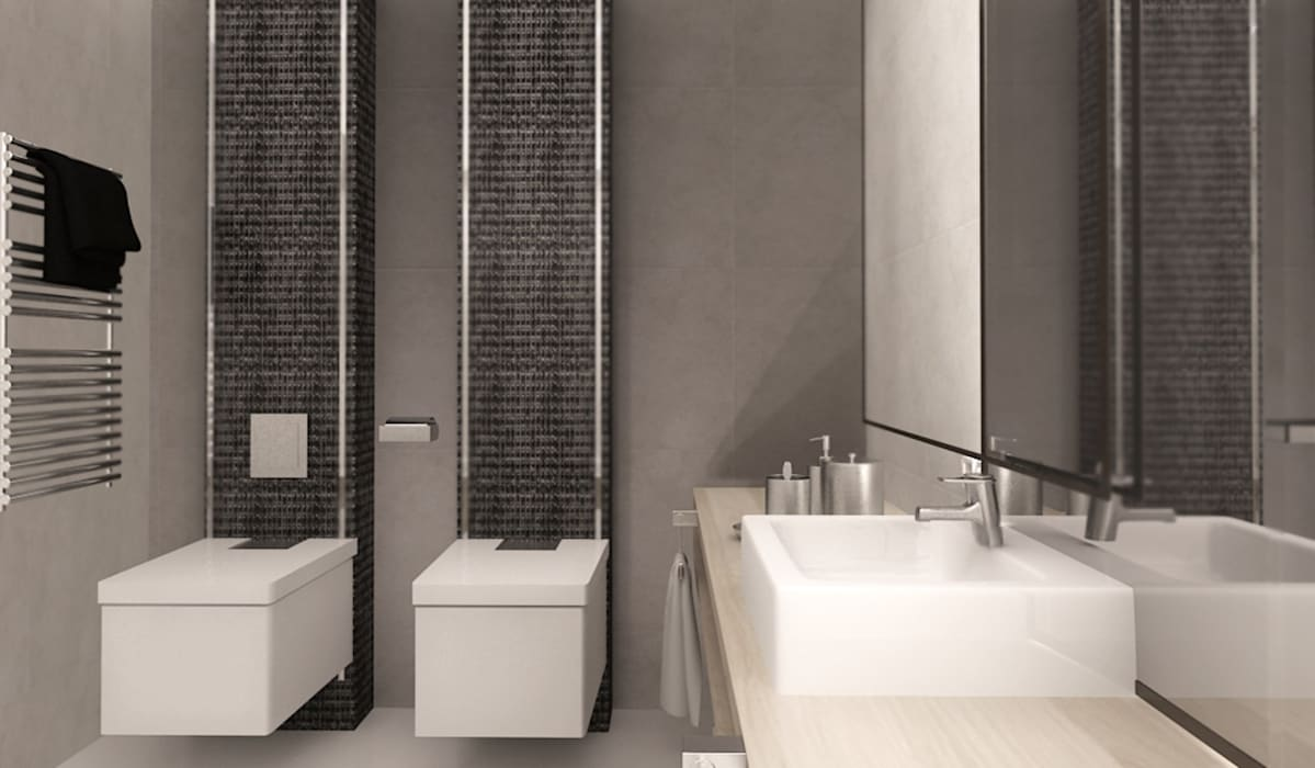 Interiores: Casas de banho  por Isothermix Lda
