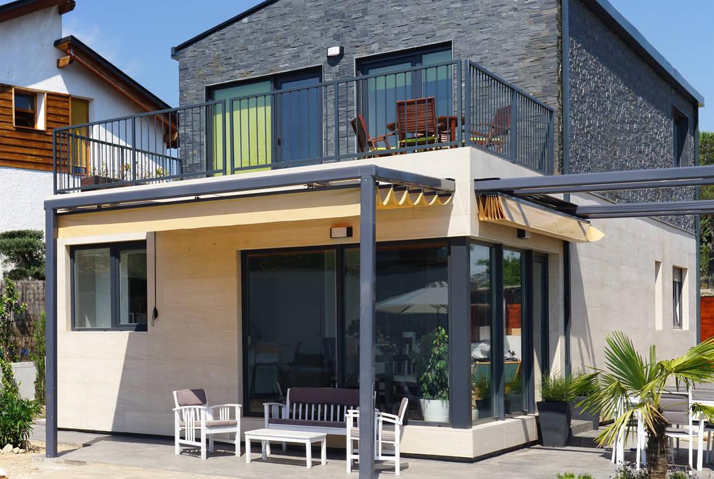 Galería en Casa Cube 175 Casas estilo moderno: ideas, arquitectura e imágenes de Casas Cube Moderno