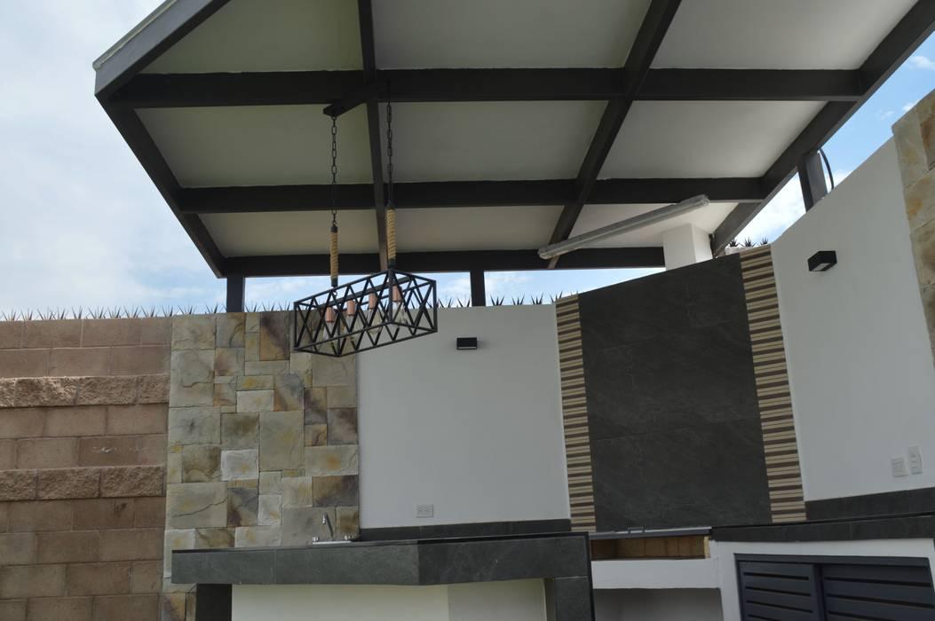 สวน โดย Daniel Teyechea, Arquitectura & Construccion, โมเดิร์น
