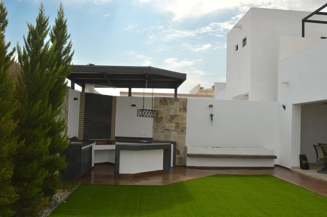 Area de Asador...: Jardines de estilo  por Daniel Teyechea, Arquitectura & Construccion, Moderno