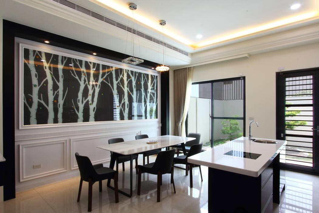 Dining room by 澤田工程/留名堂室內設計
