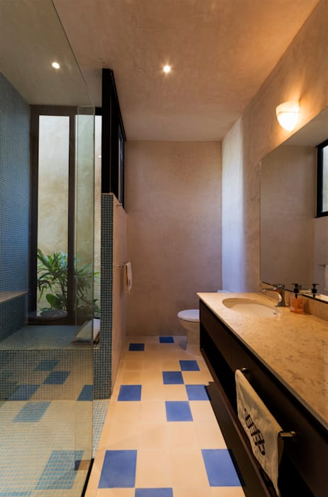 ห้องน้ำ โดย Taller Estilo Arquitectura, โมเดิร์น