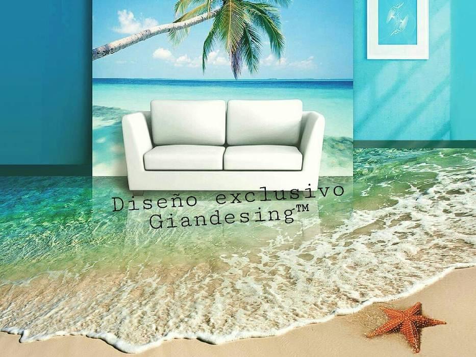 Diseños personalizada: Dormitorios de estilo moderno por Giandesing