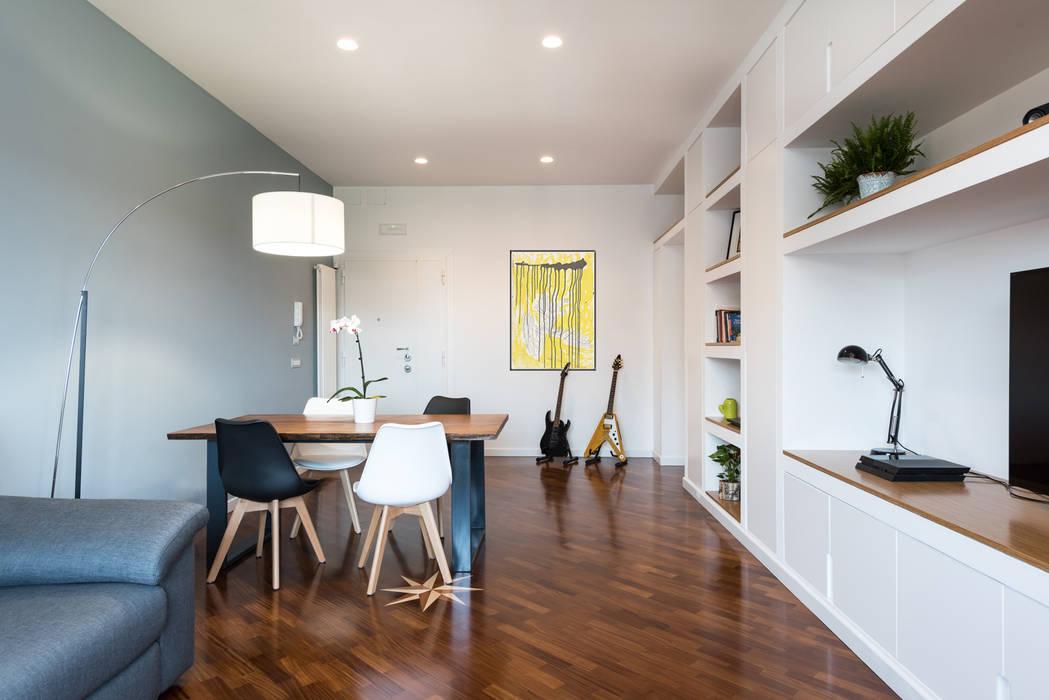 Living room by Grippo + Murzi Architetti, Modern