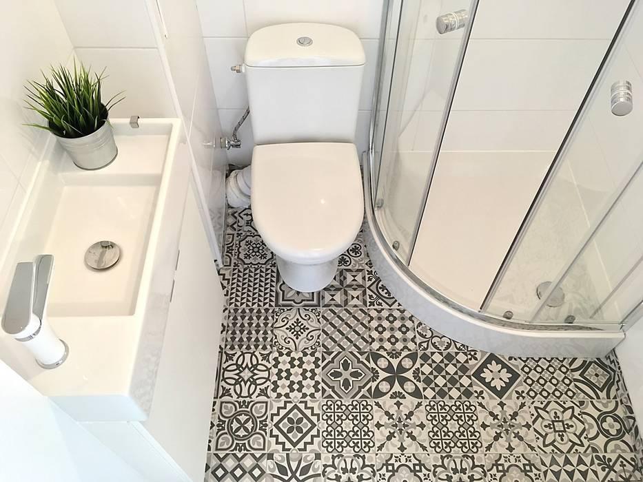 Scandinavian style bathroom by Pasja Do Wnętrz Scandinavian