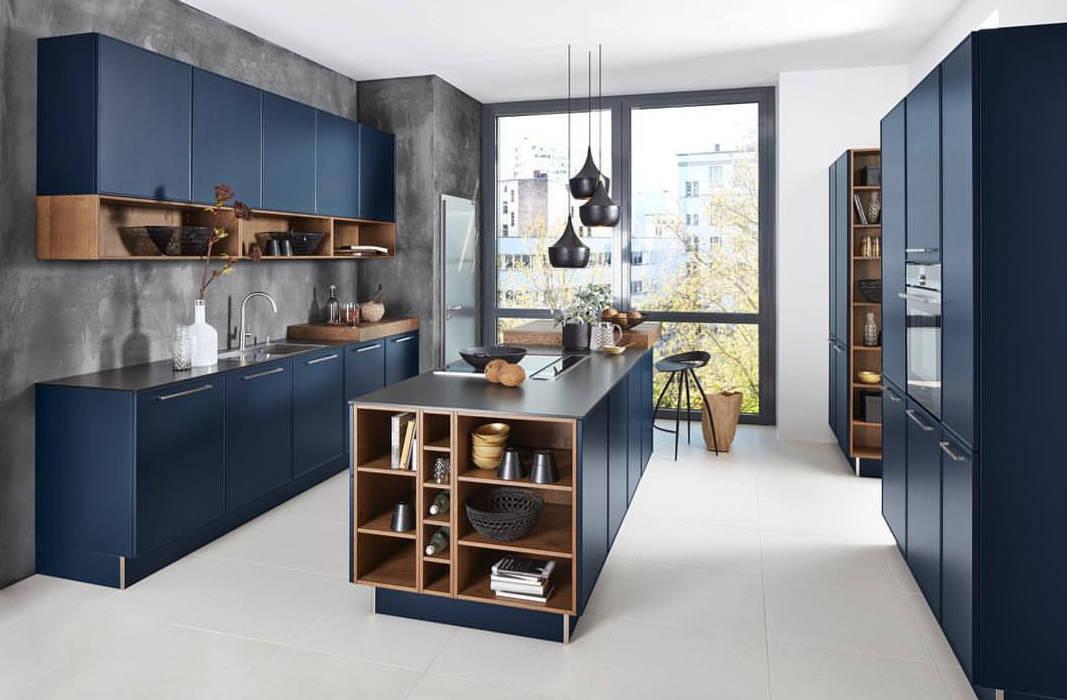 Cocinas de estilo moderno de homify Moderno Madera Acabado en madera