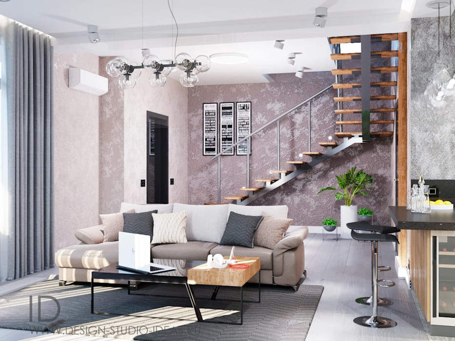 Livings De Estilo Por Студия дизайна Interior Design Ideas