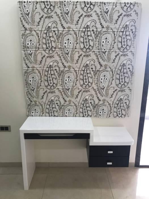 Luxury Interior Design 3 BHK Flat Nabh Design & Associates Minimalist nursery/kids room Plywood