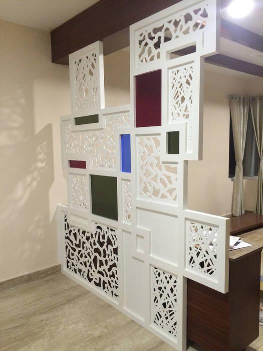 Partition Modern living room by Vedasri Siddamsetty Modern