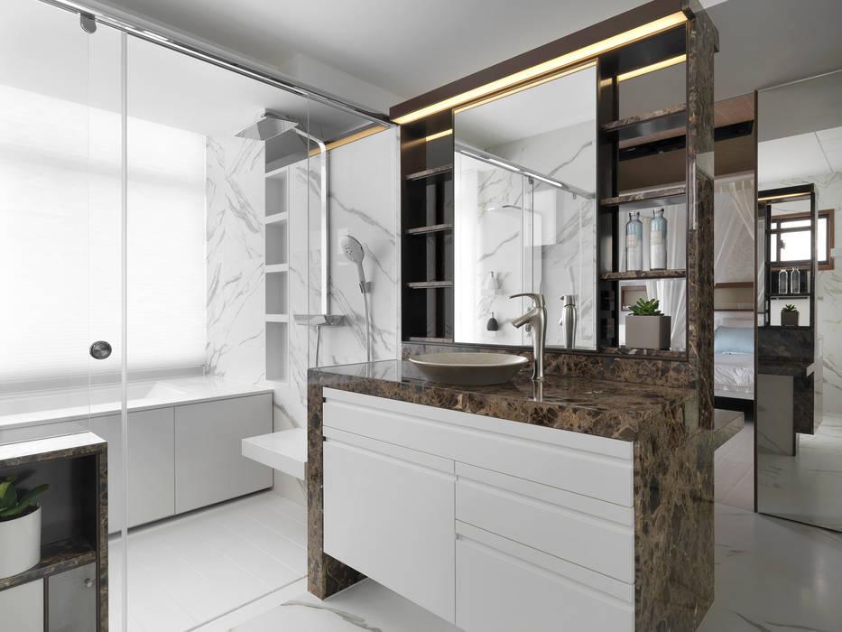 H之所在:  浴室 by 禾築國際設計Herzu  Interior Design