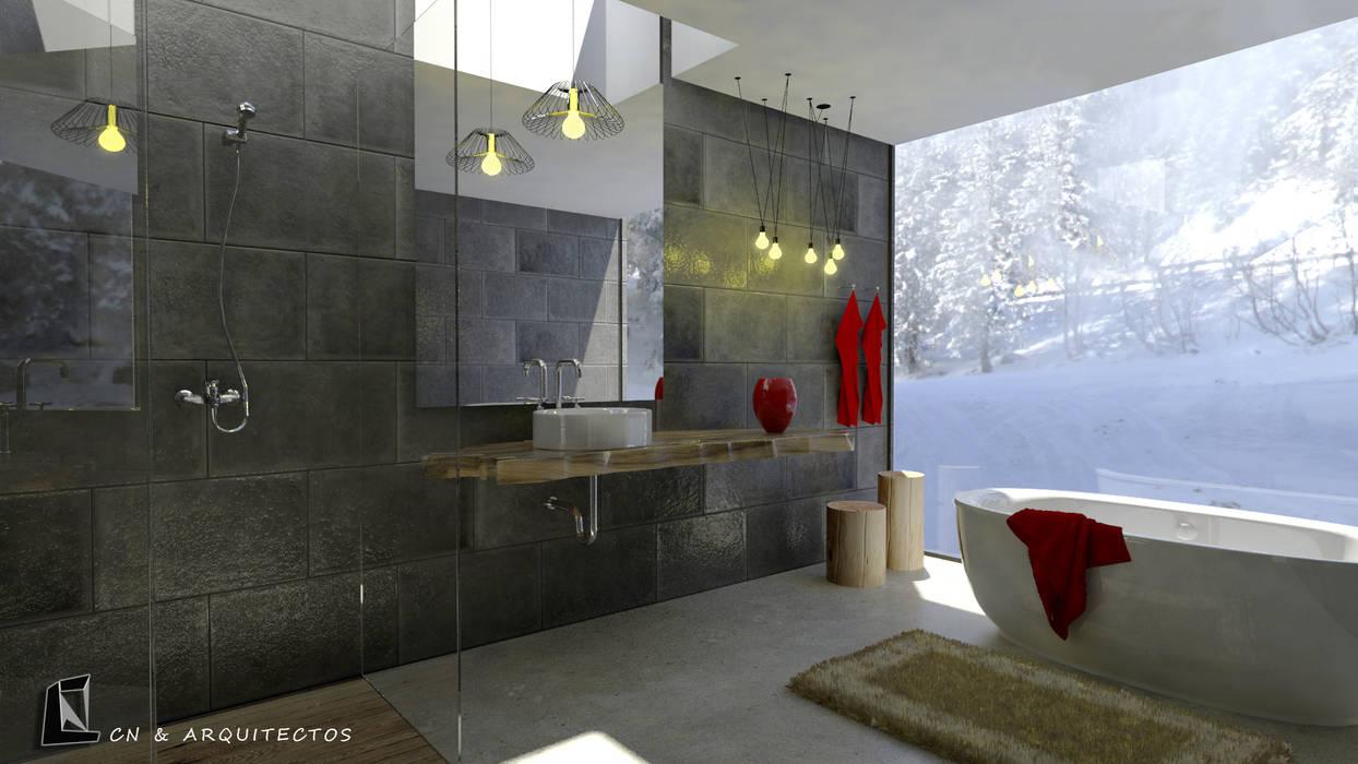 Bathroom by CN y Arquitectos
