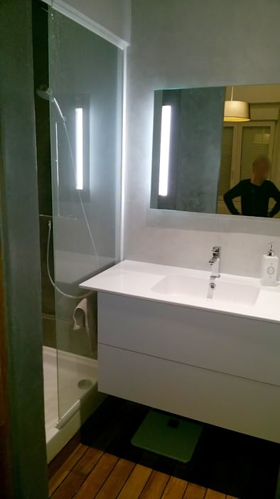 Chambre parentale avec dressing et salle d\'eau: salle de ...