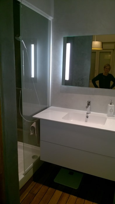 Chambre parentale avec dressing et salle d\'eau: salle de bains de ...