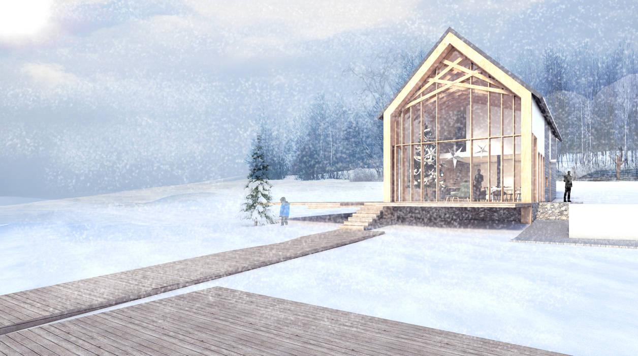 Casas de estilo ecléctico de PUFF Ecléctico
