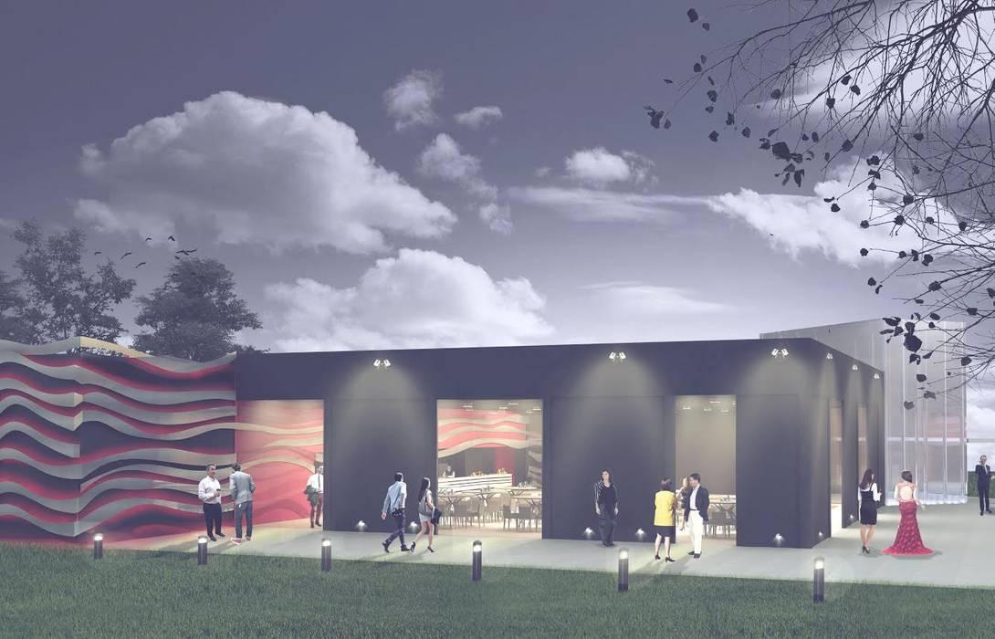 Lieux d'événements de style  par PEI arquitectura, Moderne
