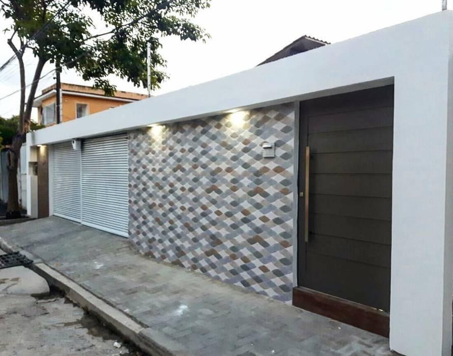 Moderne Häuser von TE ARQUITETURA Modern Keramik