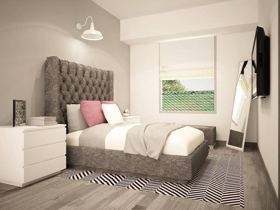 Moderne schlafzimmer von zono interieur modern   homify