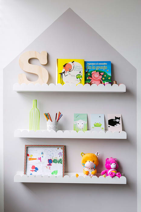 Cuarto de Salomé Little One Habitaciones para niños de estilo escandinavo