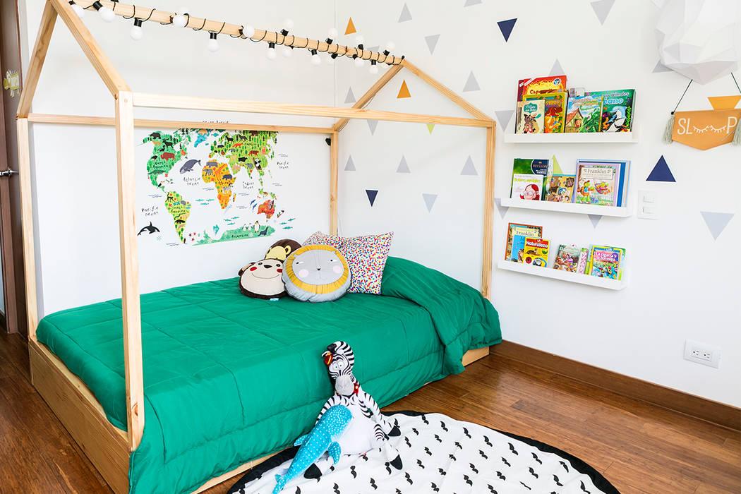 Dormitorios infantiles de estilo escandinavo de Little One Escandinavo