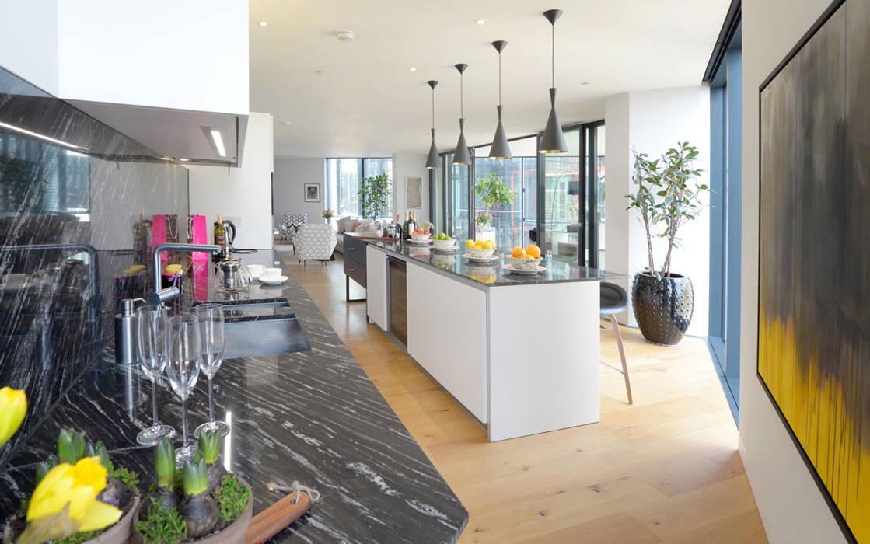 Kitchen Dapur Minimalis Oleh Graham D Holland Minimalis