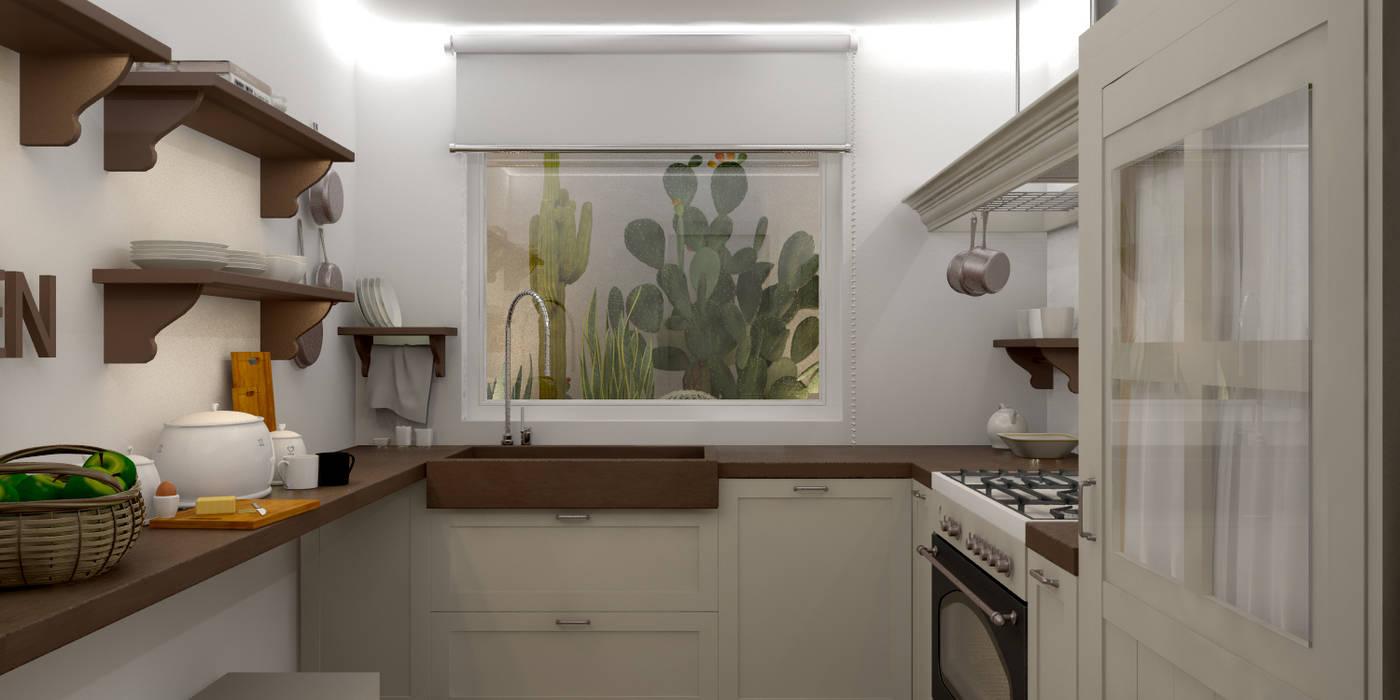 Cocinas de estilo moderno de Silvana Barbato, StudioAtelier Moderno