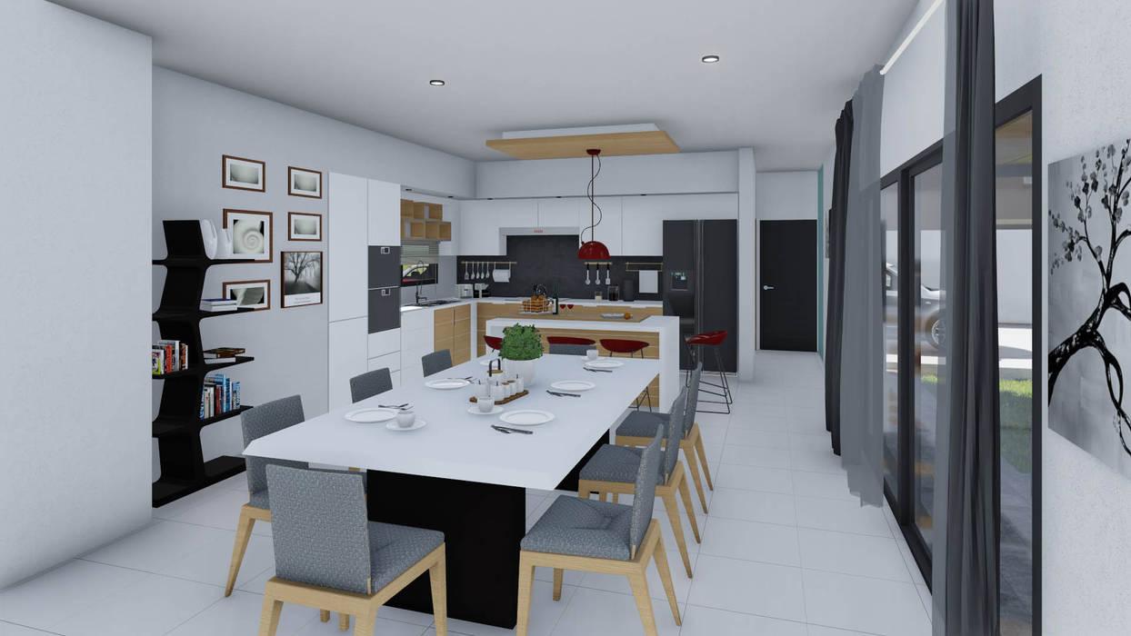Dining room by ARBOL Arquitectos