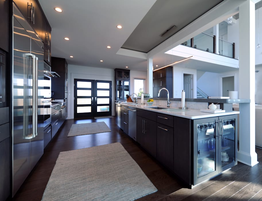 Contemporary Kitchen Modern kitchen by Olamar Interiors, LLC Modern