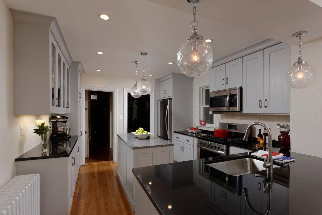 Washington DC Capitol Hill Design Build Kitchen Renovation by BOWA - Design Build Experts Minimalist